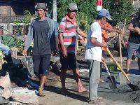 Dana Desa Mundung Satu Fokus Pada Pembangunan Drainase Tertutup