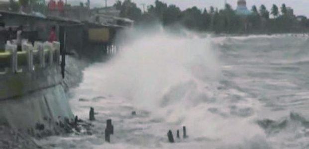 Waspada..! Gelombang Tinggi Mengancam Perairan Laut Sulut