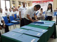 Seluruh Kepala SKPD Minut Tanda Tangani Pakta Integritas