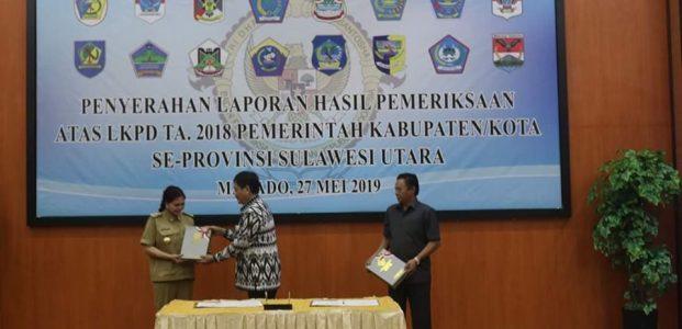 Pemerintahan VAP Persembahkan 4 Kali WTP Untuk Minut