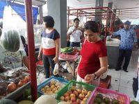 DLR Blusukan Di Pasar Ratahan