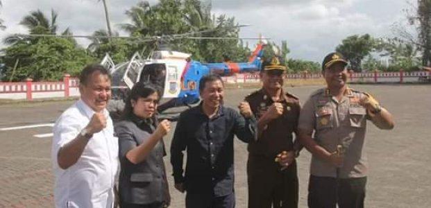 Kapolda Sambangi Kabupaten Minahasa Tenggara