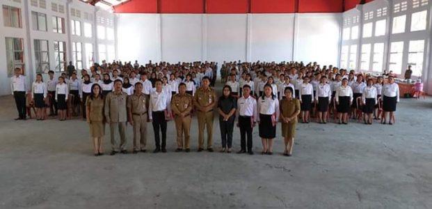 187 CPNS Di Minahasa  Tenggara Terima SK