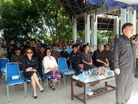 Jimmy Kuhu Irup Peringatan Hardiknas di Minahasa Utara