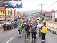 Sekkot Lolowang Buka Jalan Sehat Bersama DWP