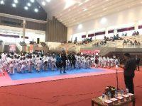 Kejuaraan Karate Berlangsung di Minahasa, Bupati Minta Utamakan Sportifitas