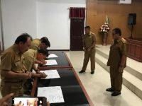 Teken Pakta Integritas, RD Minta Pejabat Wujudkan Pemerintahan yang Baik