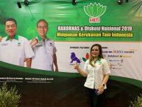 Syerly Sompotan Hadiri Diskusi Nasional HKTI, Moeldoko Sebut Dukung Jokowi Dua Periode