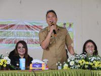 Jimmy Eman: Linmas Harus Jadi Contoh Menjaga Kebersihan dan Keindahan Lingkungan