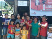Saron Ajak Rakyat Yang Pro Pancasila Pilih Jokowi Demi Anak Cucu