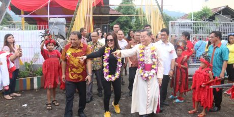 Wawali SAS Bersyukur Tatap Muka Bersama Keluarga Besar PAUD Keuskupan Manado
