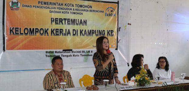 SAS Buka Pertemuan Pokja Kampung KB Di Matani 3