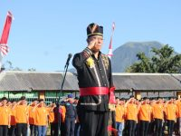 Irup Upacara Di LPKA, Eman Bacakan Sambutan Menteri