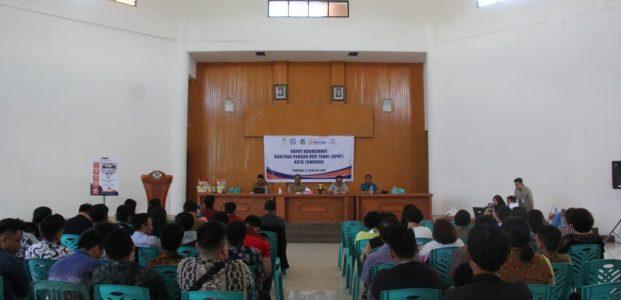 Wakili Wali Kota, Harold Lolowang Pimpin Rakor BPNT Tomohon