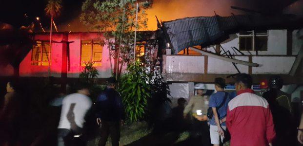 Panti Asuhan Tomohon Terbakar, Satu Korban Dilarikan ke Rumah Sakit