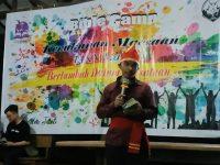 Nuansa Adat Minahasa Warnai Bible Camp Kemah Maesaan IAKN Manado