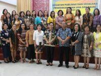 Sekkot Lolowang Buka Publikasi dan Sosialisasi PAUD Kota Tomohon