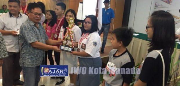 Tim Manado Cerdas 1 Jawara Kejuaraan Brigde Piala Walikota Manado