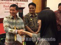 Diterima GSVL, Manado Raih Penghargaan Keterbukaan Informasi Badan Publik