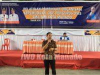 Dispora Kota Manado Gelar Pelatihan Kepemudaan, Herry Saptono Sampaikan Ini