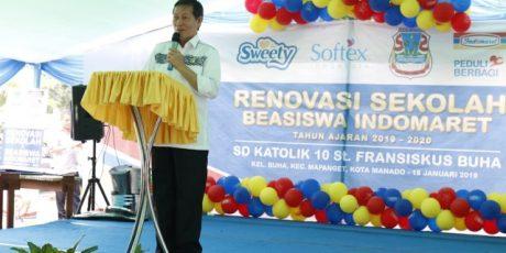 Walikota Manado GSVL Minta Sekolah Bentuk Tim Pemantau Jentik Nyamuk