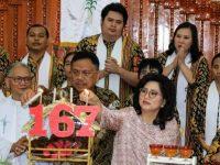 Gubernur Olly Hadir, Clay Sukses Meramu HUT GMIM Moria Kolongan