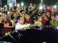 Dicegat 9 Kali, Presiden Jokowi Terlambat Tiba di Acara KGM X PGI di Minut
