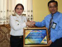Hatrick WTP, Pemkab Minut Mendapat Penghargaan dari Kementian Keuangan