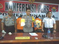 Polisi Tangkap Pengedar Sabu di Minahasa