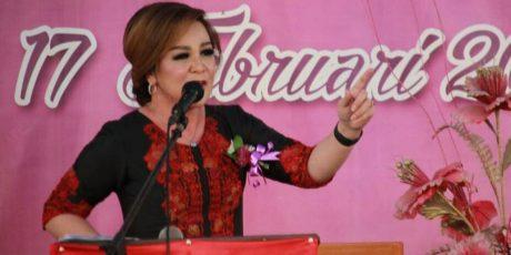 Pelantikan HKTI Sulut, Syerly Sompotan Siap Menyambut Moeldoko