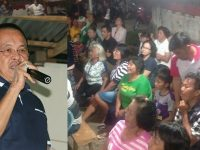 Bertemu Masyarakat Lemoh, WL Beri Bantuan untuk Pembangunan Gereja