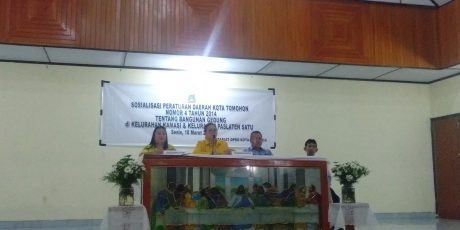 DPRD Tomohon Sosialisasikan Perda Tentang Bangunan Gedung