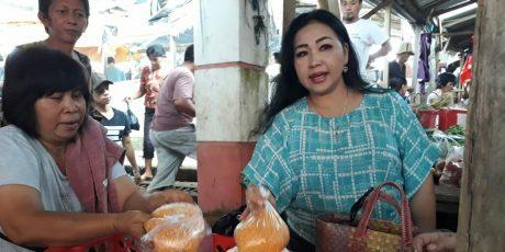 Lihat Potensi Pasar Tareran, Sandra Rondonuwu Sebut Cluster Pengembangan Ekonomi