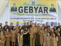 Wali Kota Jimmy Eman Membuka Gebyar PBB P2 Tahun 2019