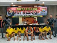 Polres Ungkap Komplotan Pencuri 48 Handphone dan Rp.17 Juta di Saroinsong, Inilah Mereka