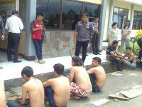 Bentrok Antarkelompok Pemuda di Pangolombian, 2 Korban Mandi Darah, 9 Diamankan Polisi