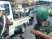 Satlantas Polres Tomohon Gandeng POM TNI Gelar Operasi Zebra