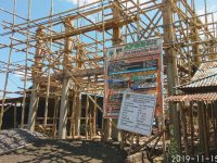 Pembangunan GSG Desa Kiawa Satu Barat Tersendat, Warga Harap Dapat Berfungsi Desember