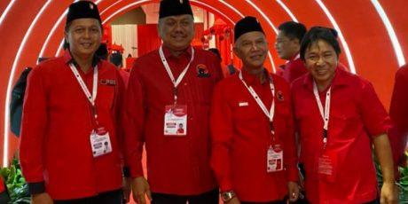 Sumendap Pimpin DPC PDI Perjuangan Mitra Hadiri Rakernas Di Jakarta