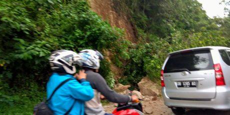 Lagi, Tebing Goa Jepang Longsor, Ini Reaksi Camat Fabian Mendur dan Kapolsek Anthon