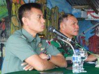Dialog dengan Media, Dandim Paparkan Keterlibatan TNI di Hari Natal dan Tahun Baru
