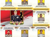 Naik Pangkat Otomatis, Inilah 15 Polisi yang Gugur Saat Pemilu 2019