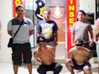 Lebih 30 Kali Beraksi, Polres Minsel Ciduk Dua Tersangka Doger di Manado