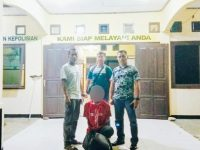 Pelarian Ayah Gabet yang Menghamili Anak Kandung Ini Berakhir di Manokwari